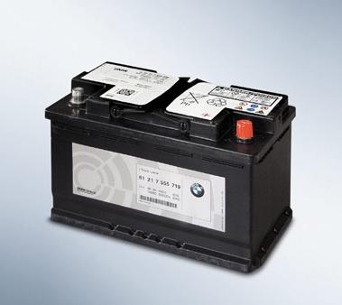 Оригинальный аккумулятор BMW 80 Ah арт. 61217555719